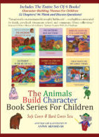 Animals Build Character Series (Hard Cover Editions)